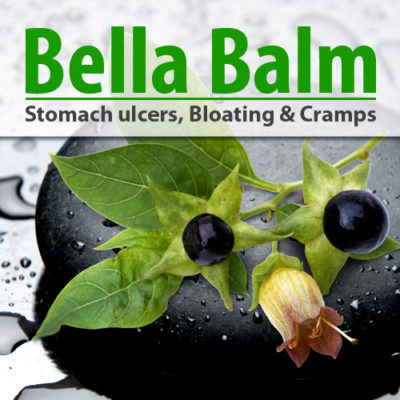 Bella Balm - Stomach ulcers, Bloating & Cramps remedy