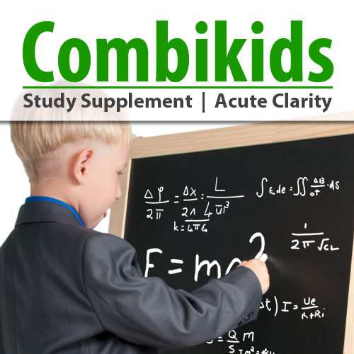 Combikids - Memory, Focus & Stress relieve Study Supplement
