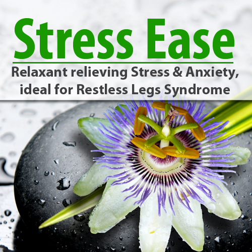 Stress Ease - Relaxant relieving Stress & Anxiety, RLS